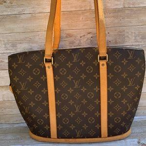 💯Authentic LOUIS VUITTON Babylon Should Bag
